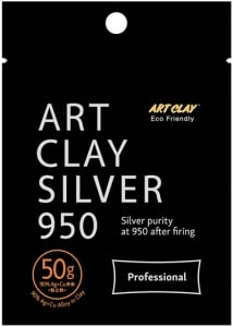 Art Clay 950 Silber Modelliermasse