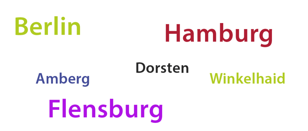 Hier finden Sie zertifizierte Art Clay Kursleietr in ganz Deutschland